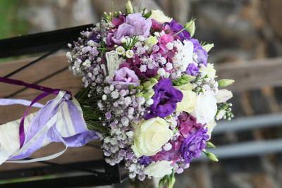 Hochzeitsfloristen Brautstrauss