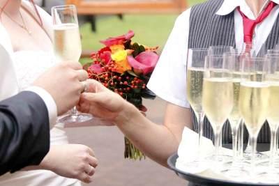Hochzeit Catering & Sektempfang