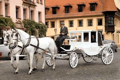 Hochzeitskutsche Mieten in Leipzig und Umgebung